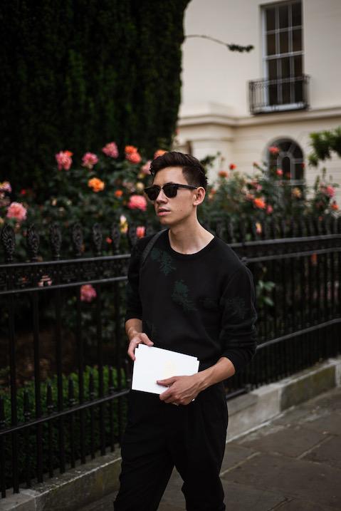 Portrait of fashion blogger Frank Lin