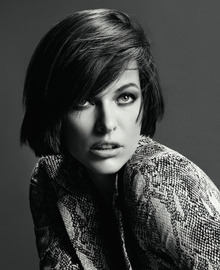Milla Jovovich: Fashion in action