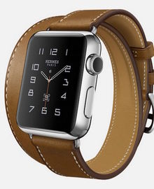 Does Apple compete with luxury watchmakers?